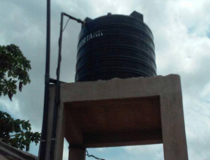 Agosto 2017. Ecco ultiimato il  pozzo in Togo